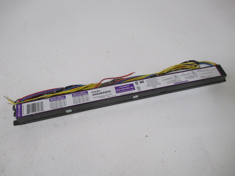 PHILIPS ADVANCE HCN-2S54-90C-WL 119 to 120 Watts 2 Lamps Electronic Ballast