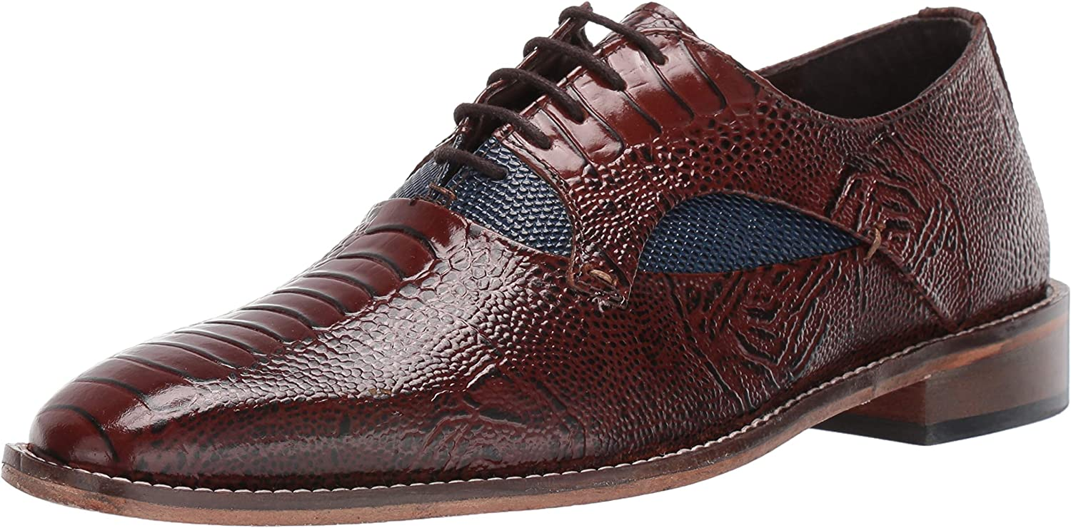 STACY ADAMS Men's Our shop OFFers the [Alternative dealer] best service Oxford Exotic-Print Ricoletti