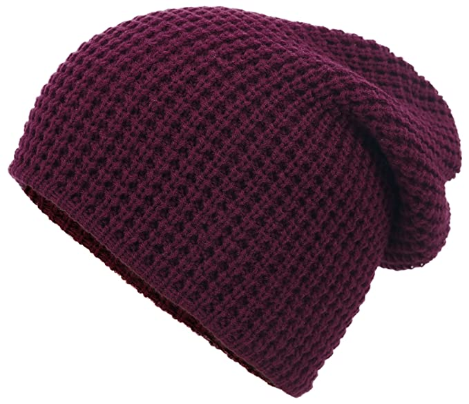 Men's/Women's Slouchy Soft Knit Daily Beanie Solid Color Skull Hat Cap