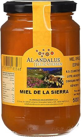 Al-Andalus Delicatessen Miel de la Sierra 500 gr., pack de 12 x 500 gr: Amazon.es: Alimentación y bebidas