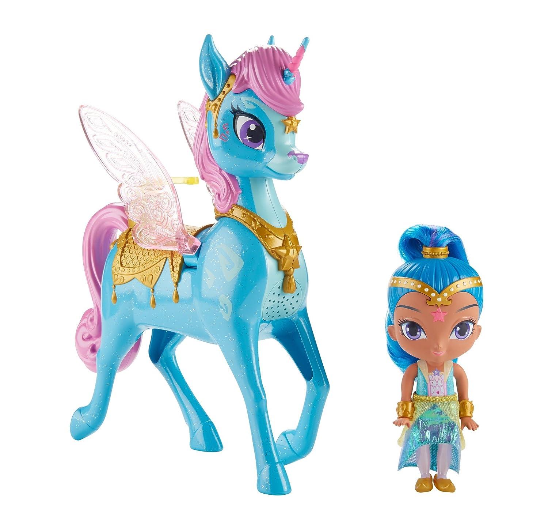 Shimmer und Glanz fvf91Glanz und Magical Flying zahracorn, Mehrfarbig Mattel