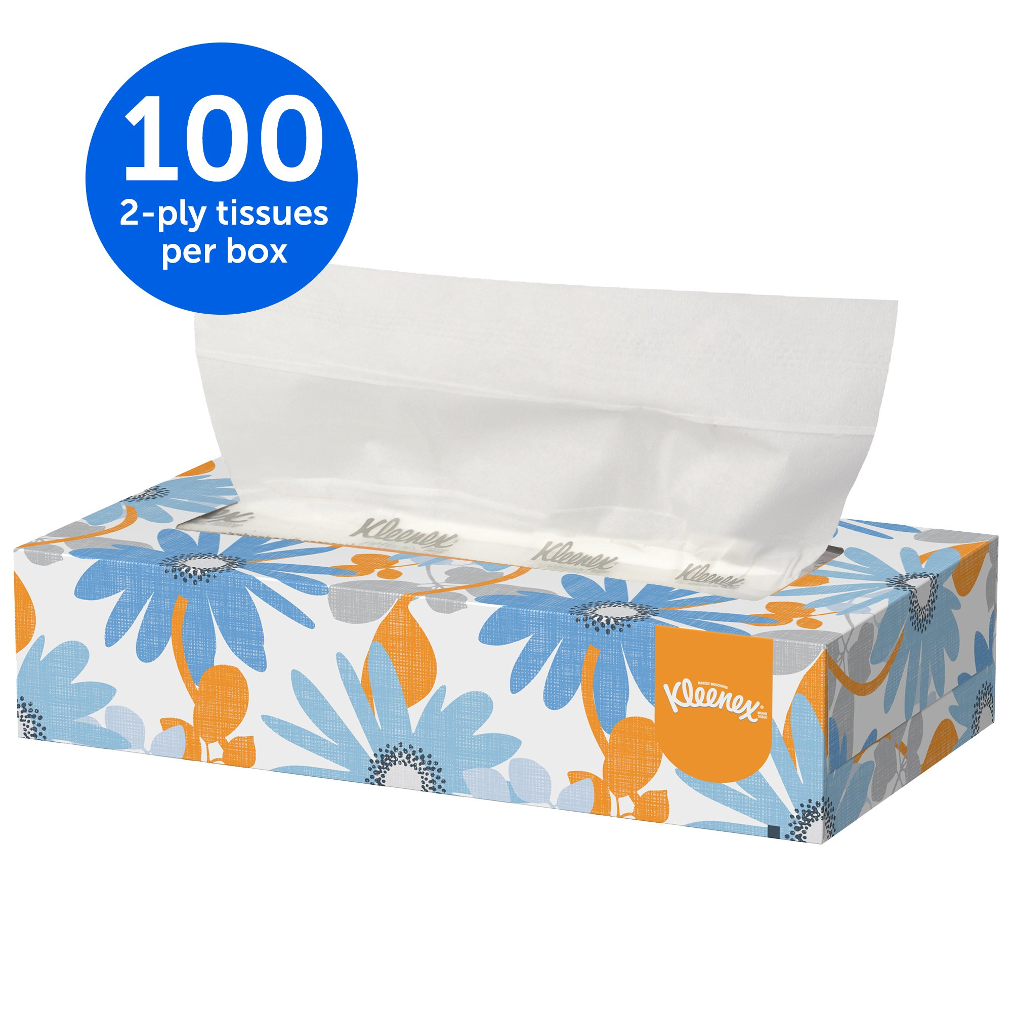 Kleenex Professional Facial Tissue for Business (13216), Flat Tissue Boxes, 60 Boxes/Case, 100 Tissues/Box by Kimberly-Clark Professional (Image #3)