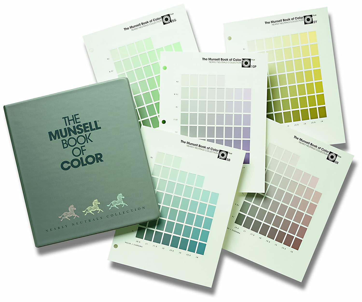 x rite munsell m40328b book of color nearly neutrals photo studio support equipment amazoncom - Munsell Color Book