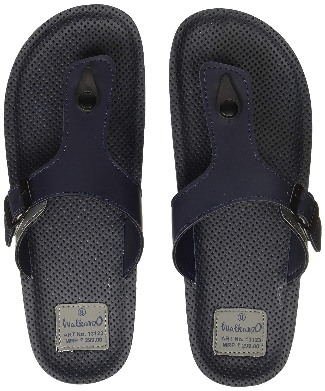 Buy WalkaroO by VKC Men's Flip-Flops at
