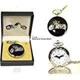 Motorcycle Pocket Watch 116