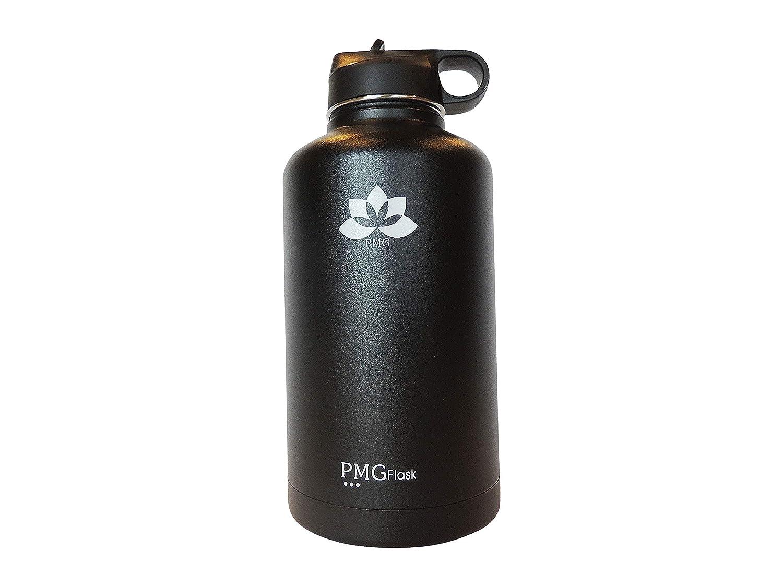 Amazon.com: PMG Botellas de agua deportivas con boca ancha y ...