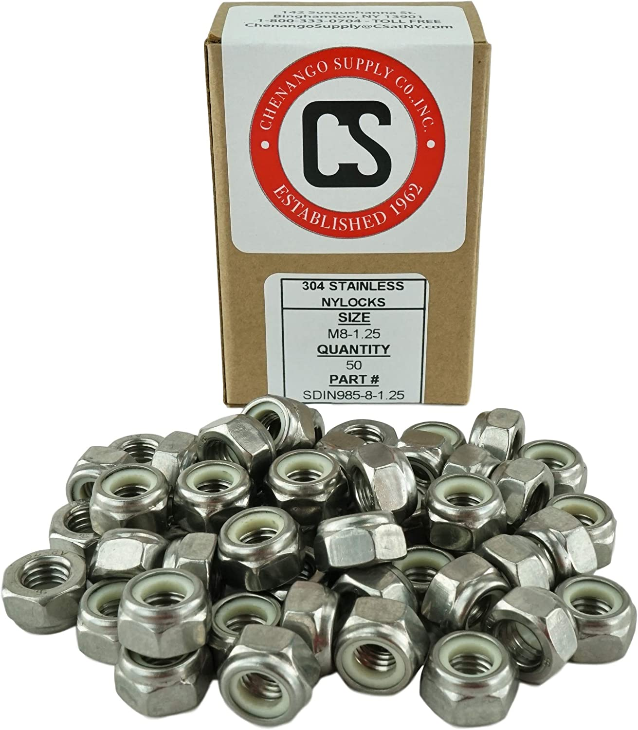 20 Pieces 12mm to 60mm Length in Listing DIN 933 Stainless M8-1.25 x 20mm Fully Threaded Hex Head Bolts M8-1.25 x 20mm 18-8 Stainless Steel