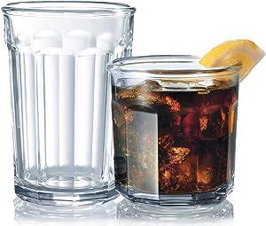 Luminarc Working Glass 16-Piece Drinkware Set