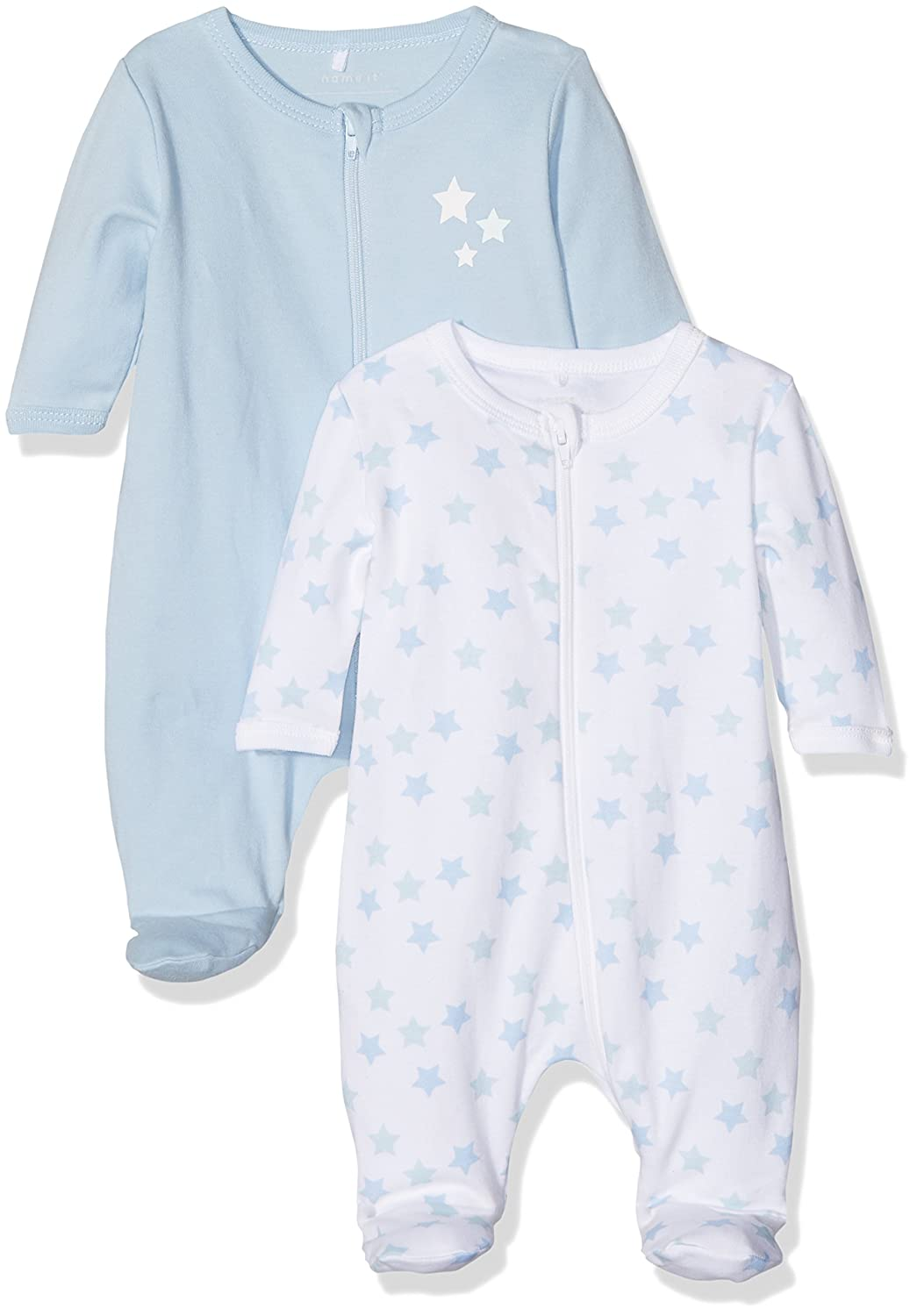 Name It Baby Boys' Sleepsuit Pack of 2 13145660