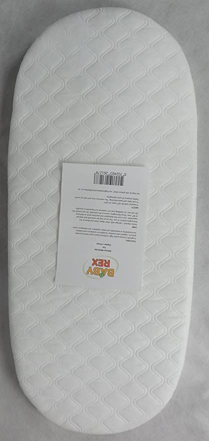 half off 62687 ca25c QUILTED BREATHABLE PRAM MATTRESS FITS BABYSTYLE OYSTER CARRYCOT PRAM