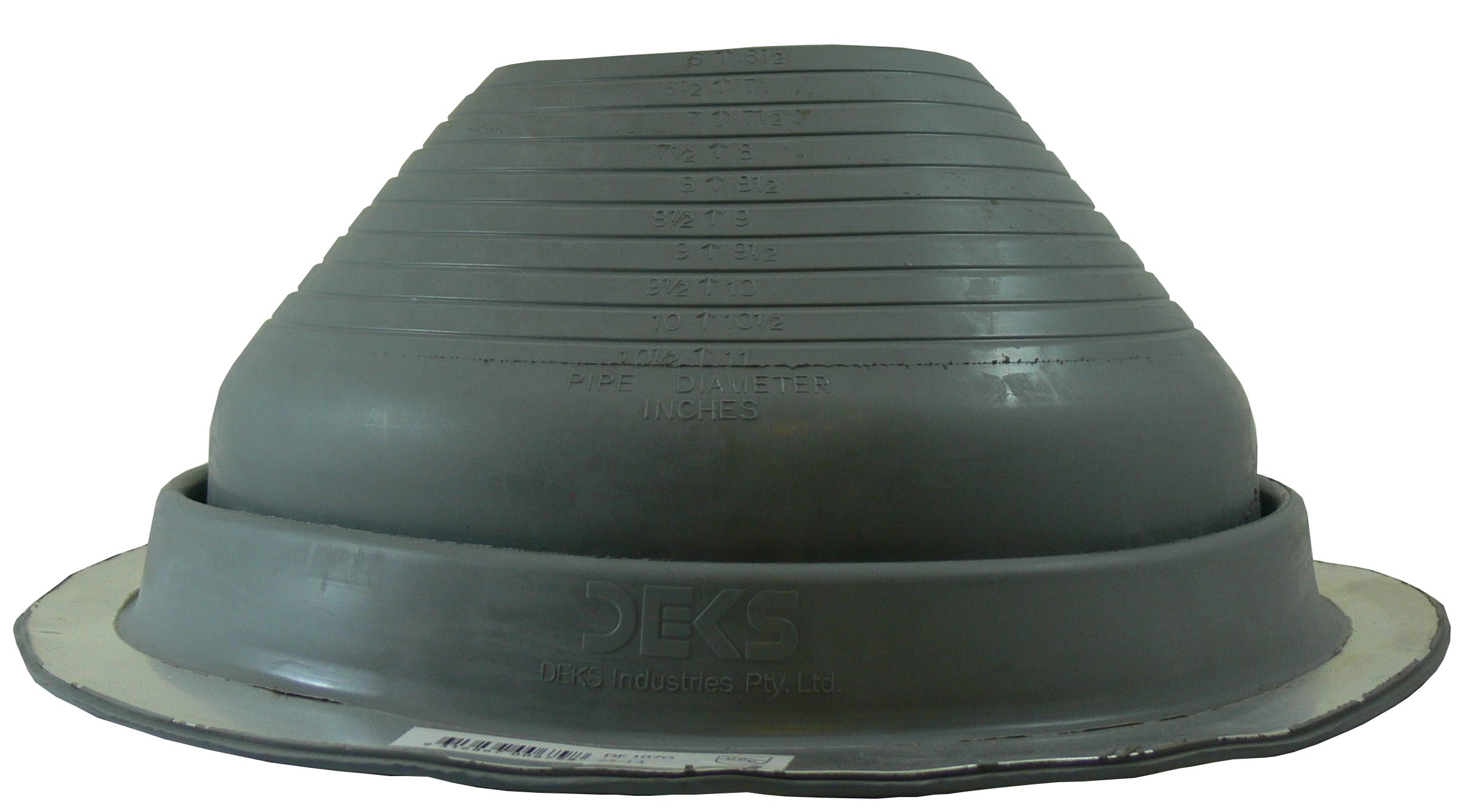 Dektite #7 EPDM Pipe Flashing 6'' to 11''
