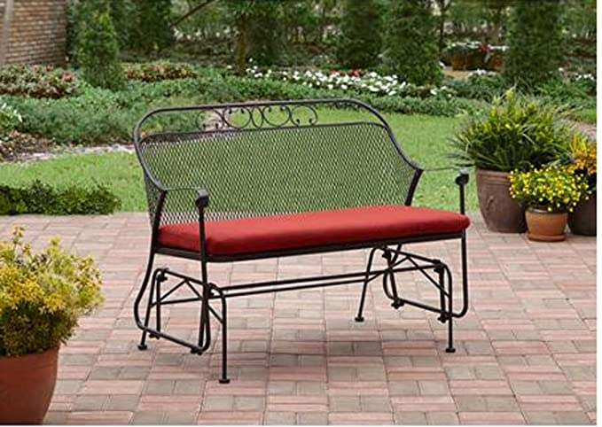 Amazon.com: Better Homes and Gardens Clayton Court Outdoor Glider ...