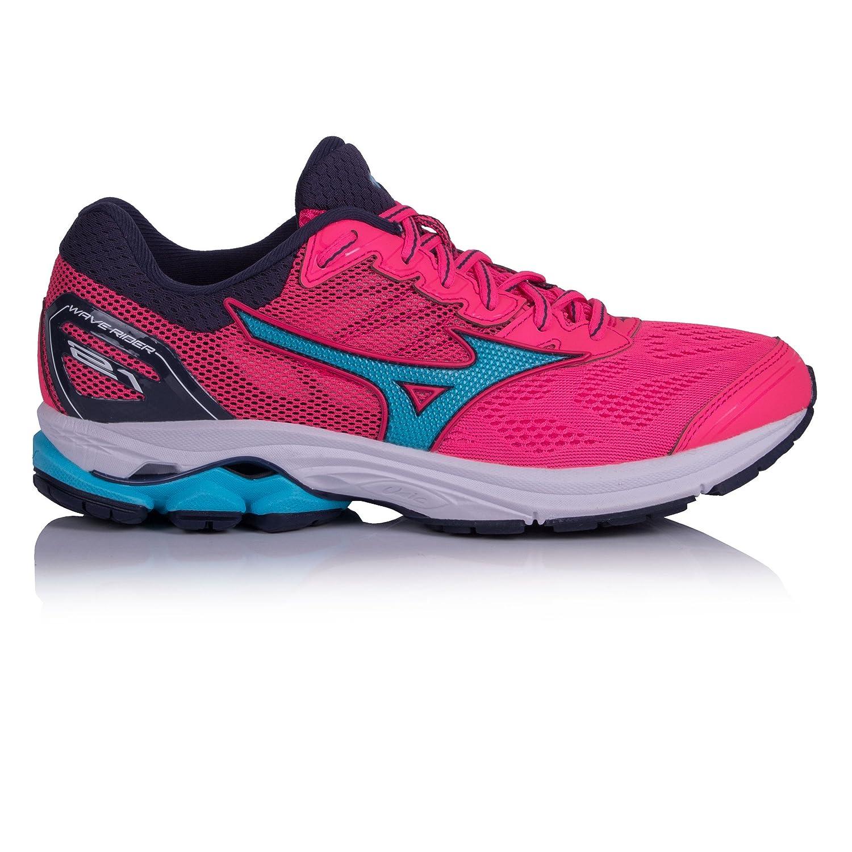 Mizuno Wave Rider 21 Wos, Zapatillas de Running para Mujer 44 EU|Rosa