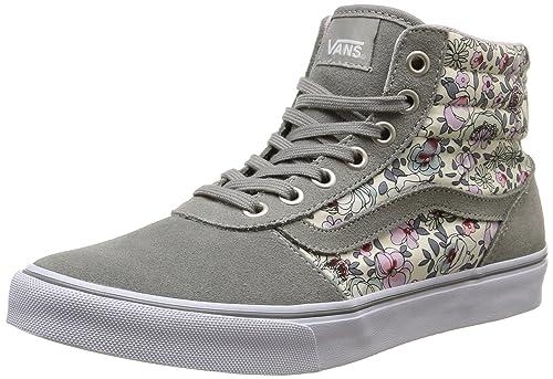 Vans - Asher, Zapatillas Mujer, Multicolor (Vintage Floral/Gray/Lavender), 35 EU