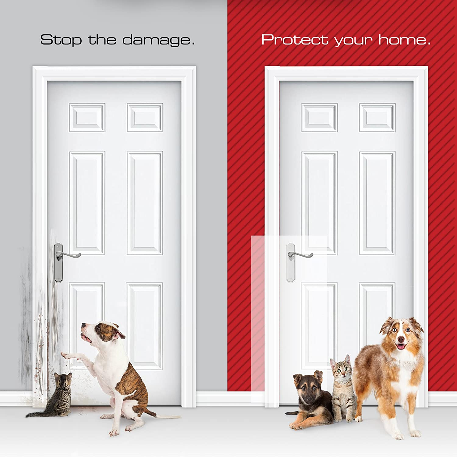 Amazon Clawguard The Ultimate Door Scratch Shield Frame And