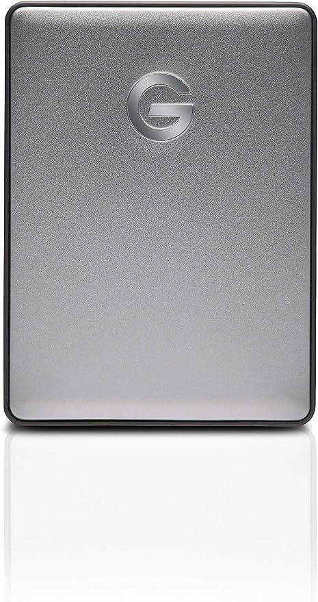 G-Technology 2TB G-Drive Mobile USB 3.0 Portable External Hard Drive Silver 0G06072