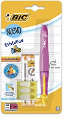BIC 930250 Evolution Kids Portaminas, Blister de 1 Pieza, color Rosa