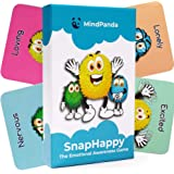 MindPanda SnapHappy 2 in 1 Therapy Card Game for Kids - Teach Mindfulness & Emotional Awareness - Hilariously Funny Family Ga