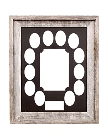 Amazoncom Barnwoodusa School Years Matted Picture Frame K 12 100