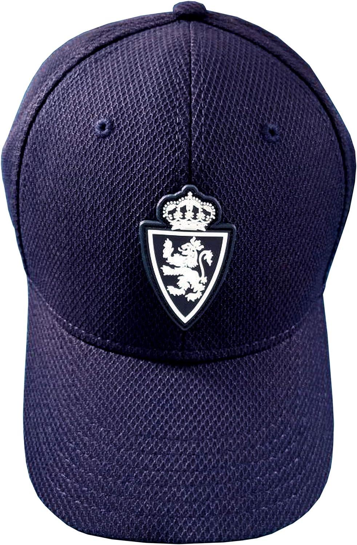 Real Zaragoza Gorzar Gorra, Hombres, Azul, Talla Única: Amazon.es ...