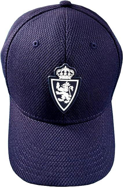 Real Zaragoza Gorzar Gorra, Hombres, Azul, Talla Única: Amazon.es: Deportes y aire libre
