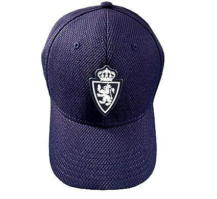Real Zaragoza Gorzar Gorra, Hombres, Azul, Talla Única