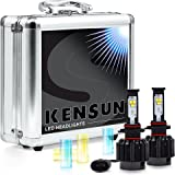 Kensun New Technology All-in-One LED Headlight Conversion Kit (from HID or Halogen) with Cree Bulbs - 9005 (9011)- 30W 3000LM x2 - 2 Year Full Warranty