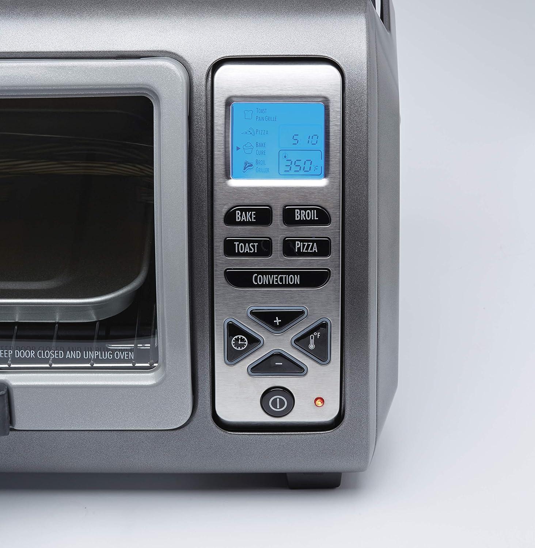 Hamilton Beach 31128 Easy Reach Digital Convection Toaster Oven Silver