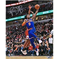 "$112 » R.J. Barrett New York Knicks Autographed 8"" x 10"" Dunk vs. Chicago Bulls Photograph - Fanatics Authentic Certified"