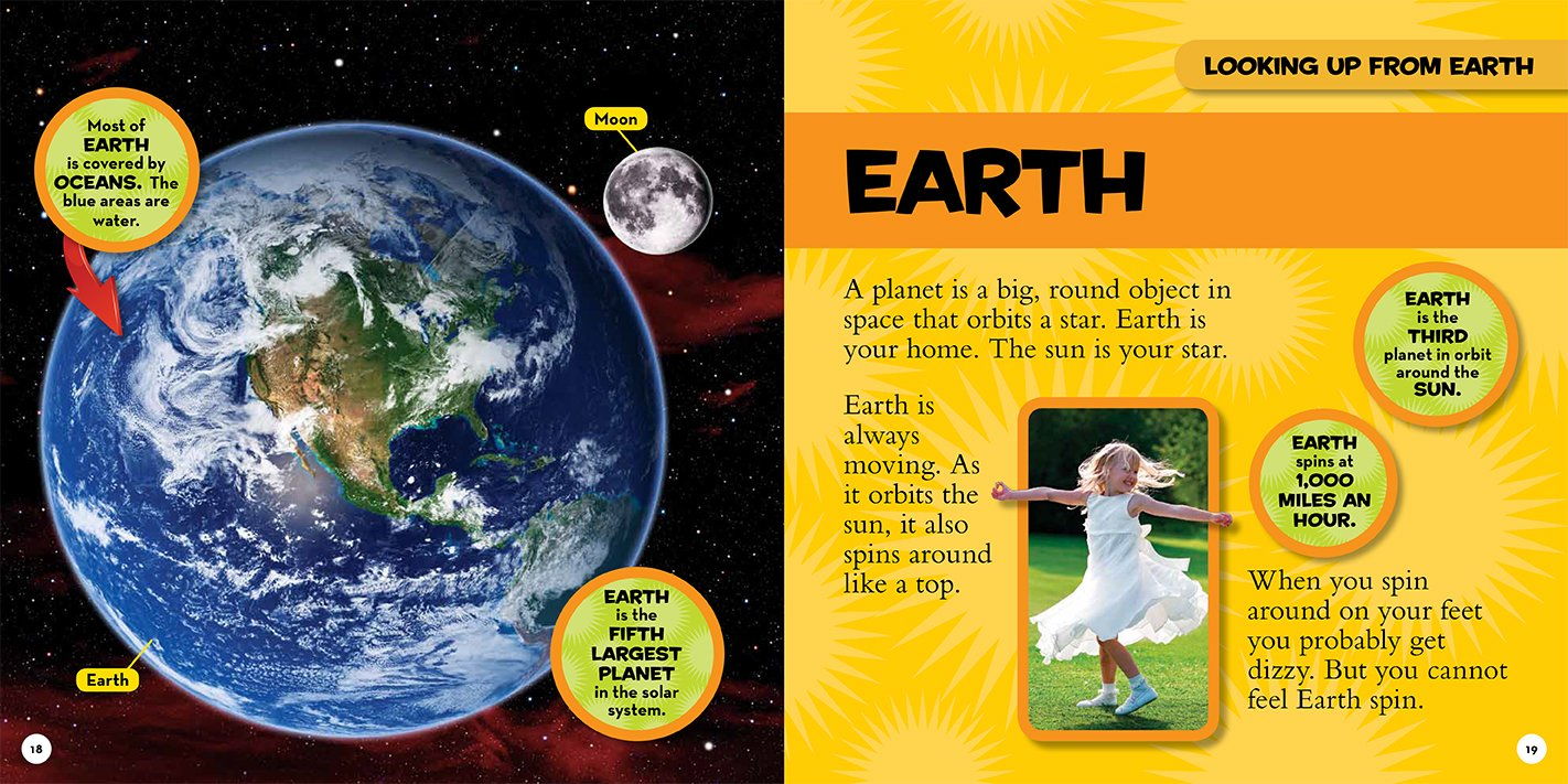 National Geographic Little Kids First Big Book Of Space Catherine D Hughes David A Aguilar 8601400871881 Books