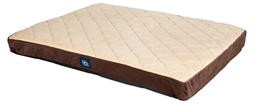 ​Serta Orthopedic Quilted Couch Pet Bed