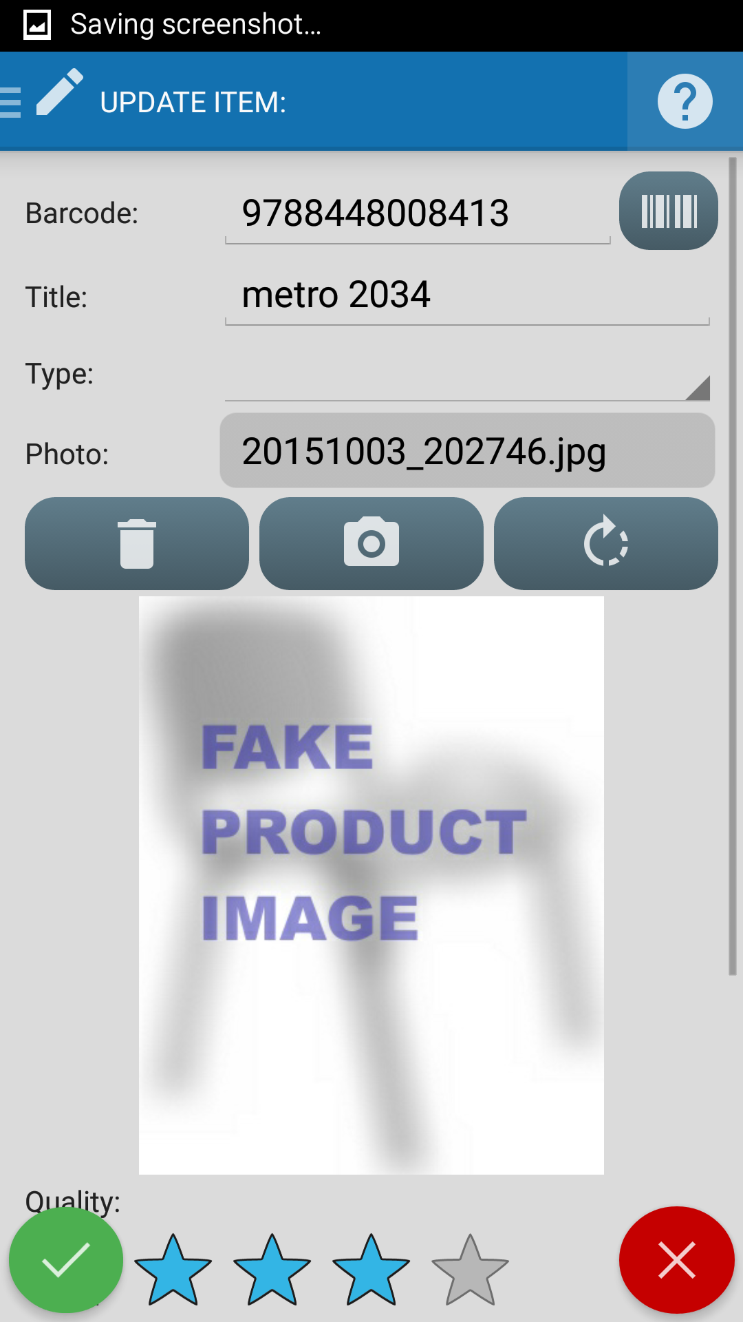 Barcode Scanner Pro Screenshot 2
