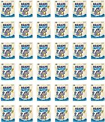 BRAMI Lupini Bean Snack, Sea Salt | Plant Protein, Vegan, Gluten-Free, Low Calorie, Zero Net Carb, Keto, Lightly Pickled, Mediterranean Legume | Pack of 36, 1.06 oz (30g)