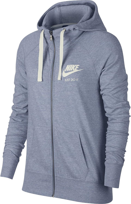 Nike W NSW Gym VNTG Hoodie FZ - Sudadera Mujer: Amazon.es ...