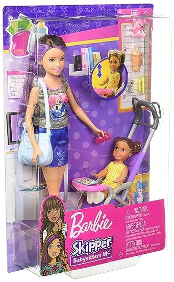 Barbie Bebek Bakıcılığı Oyun Seti Fhy97 Fjb00 Amazoncomtr Globalco