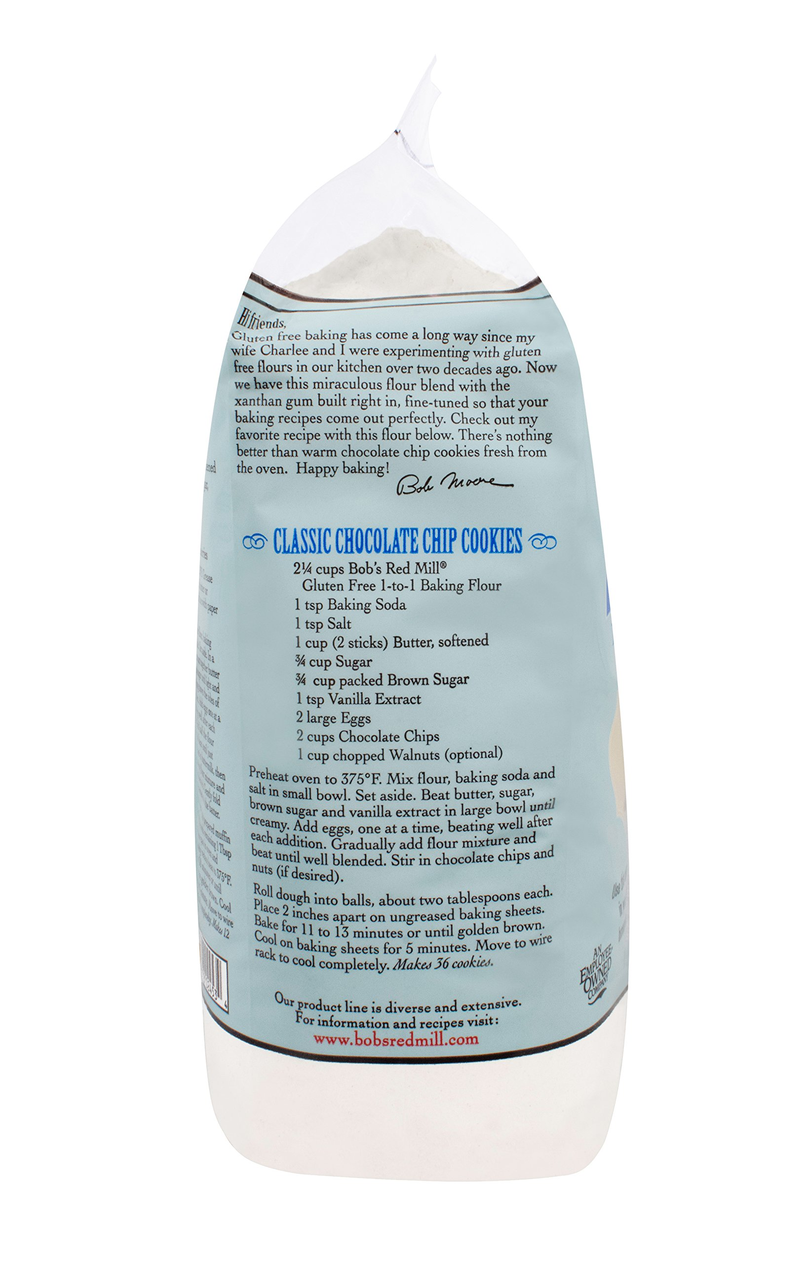 Bob's Red Mill Gluten Free 1-to-1 Baking Flour, 5 Pound by Bob's Red Mill (Image #7)
