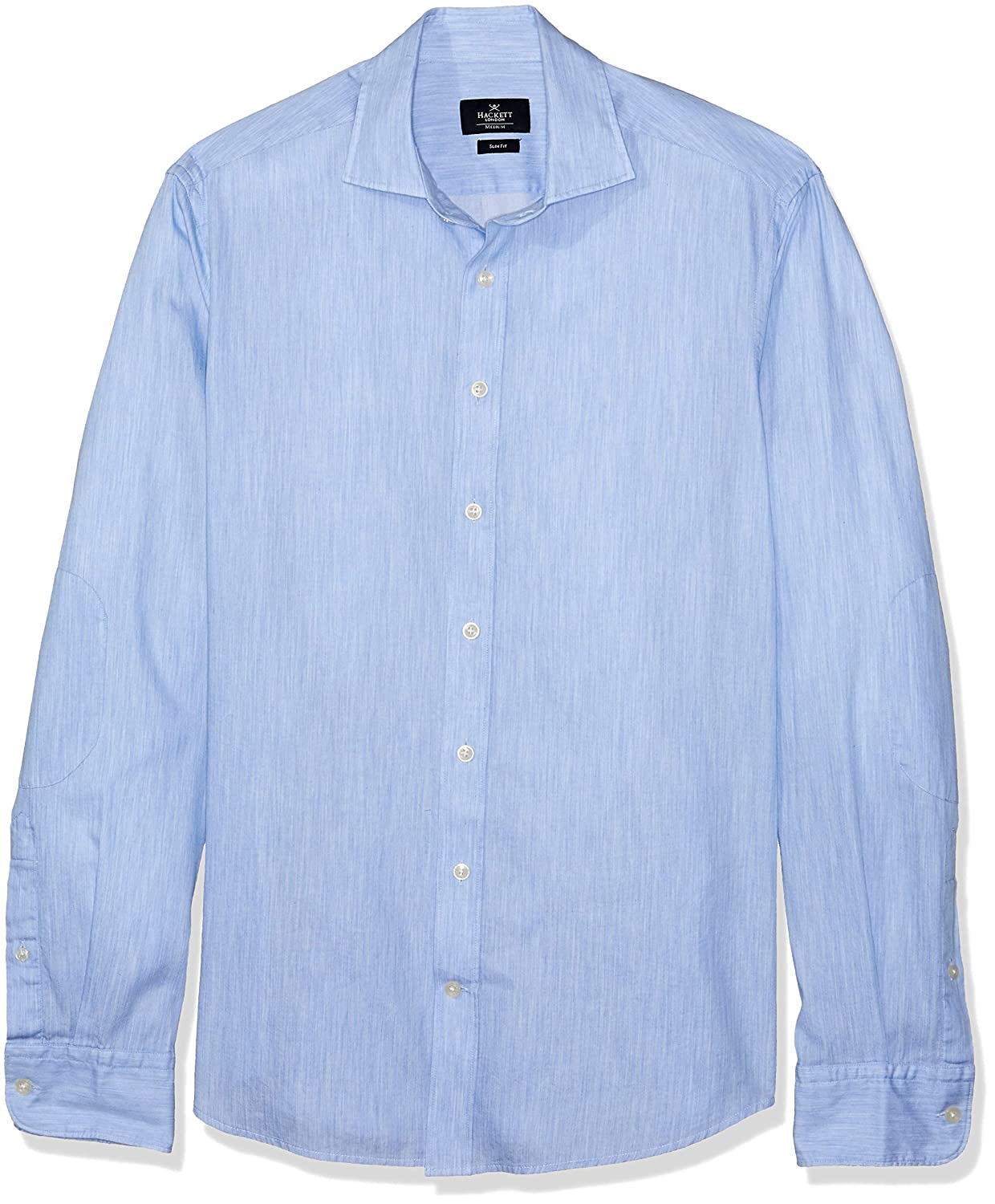 Hackett London Pl Melange Multi Trim, Camisa para Hombre