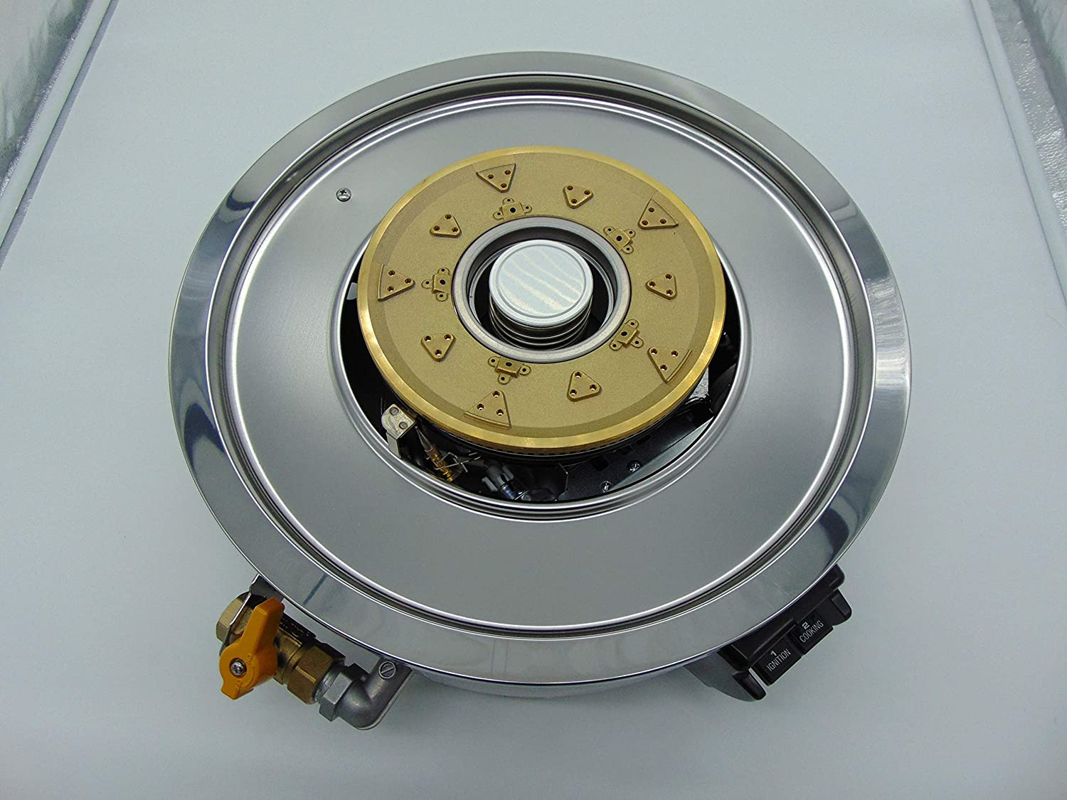 Gas Rice Cooker Burner Base Only Model: RER-55AS-N Type Of Gas: Natural Gas