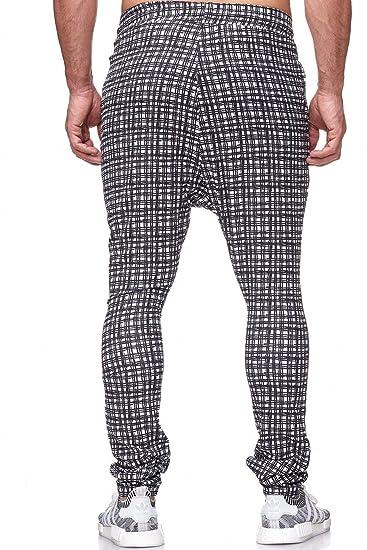 Redbidge Hommes Pantalon Jogging à Carreaux Pyjama Fitness Pants   Amazon.fr  Vêtements et accessoires fc779e778aa0
