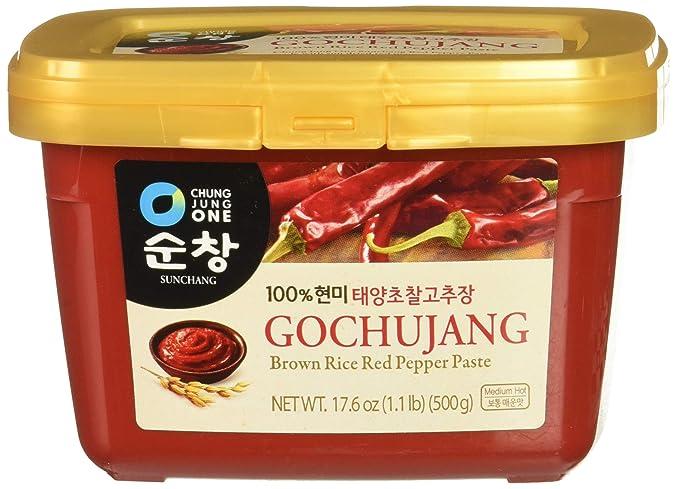 Daesang Sunchang Gochujang (pasta de pimiento rojo) 500g