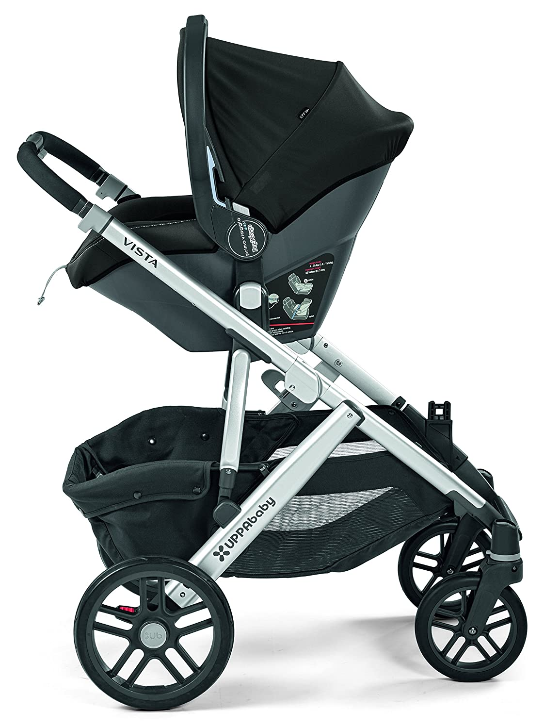 Amazon Peg Perego Primo Viaggio 4 35 Car Seat Adapter For UPPABaby Strollers Black Baby