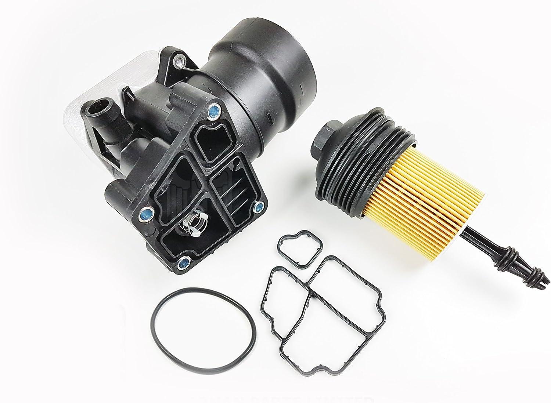 Juego de tapones y juntas para filtro de aceite de 2.0TDI/1.6TDI 03L115389C: Amazon.es: Coche y moto