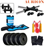 AURION BRAND NEW DUMBBELLS SET WITH 12 KG + ANKLE WEIGHT(1 KG X 2 ) GYM ACCESSORIES