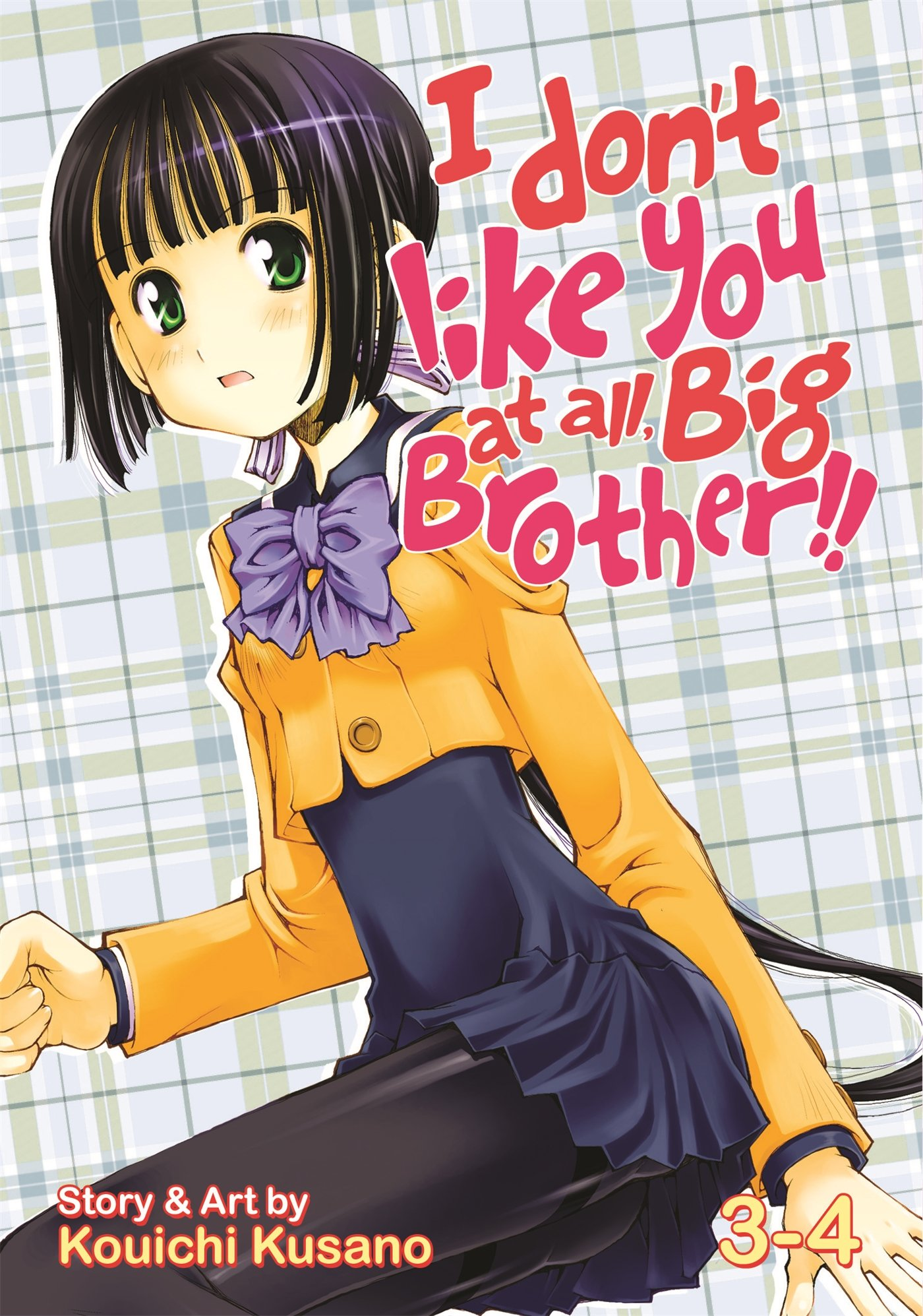I Don't Like You At All, Big Brother!! Vol. 3-4 by Seven Seas