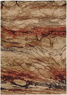 """product image for Capel Gravel-Marble Chalcedony 7' 10"""" x 10' 10"""" Rectangle Machine Woven Rug"""