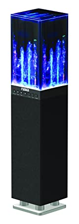 Review NAXA Electronics NHS-2009 Dancing Water Light Tower Speaker System with Bluetooth