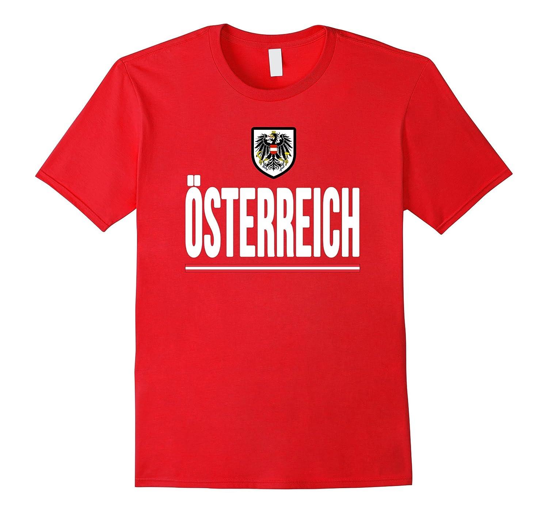 OSTERREICH T-shirt Austria-n Flag Soccer Football Jersey Tee-Art