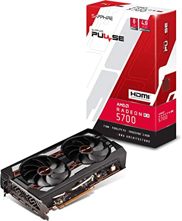 Amazon.com: Sapphire 11294-01-20G Radeon Pulse RX 5700 ...