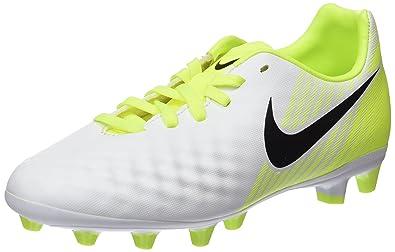Nike Jungen Jr Magista Opus II AG-Pro Fußballschuhe, Weiß (White/Black