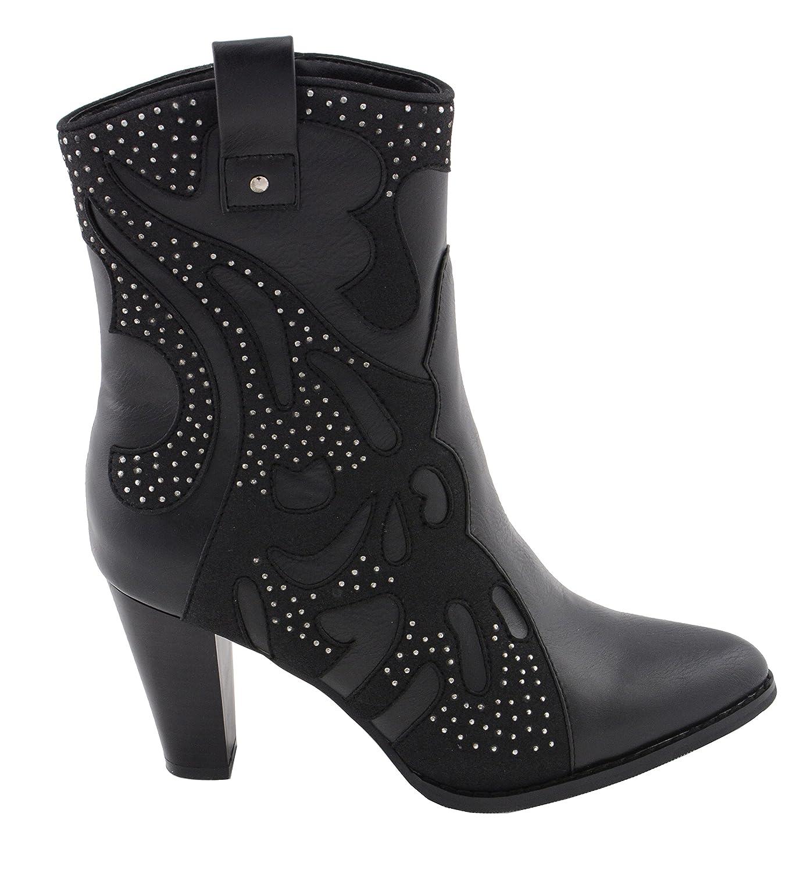 Black, 8 Milwaukee Performance Womens Western Style Boot